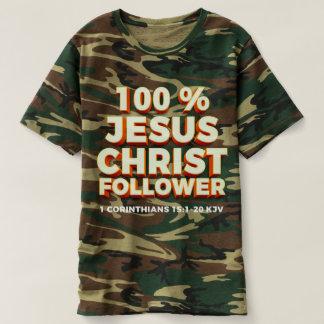 Camiseta El 1 camuflaje de los hombres de los Corinthians