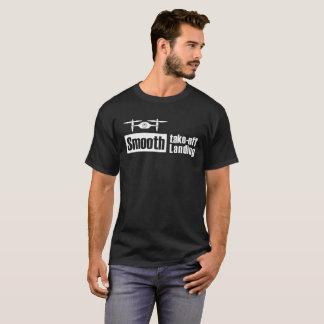 Camiseta El abejón liso saca v1 de aterrizaje liso