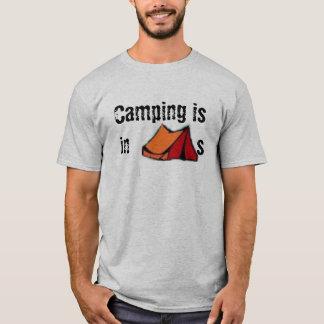Camiseta El acampar está en TIENDAS