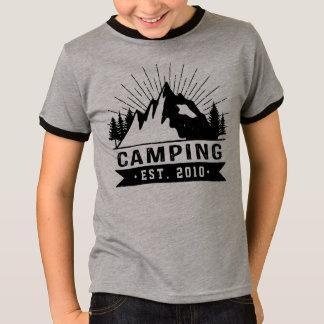 Camiseta El acampar personalizado