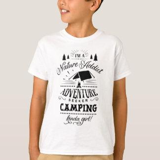 Camiseta El acampar un poco chica
