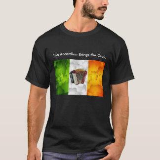 Camiseta El acordeón trae el Craic
