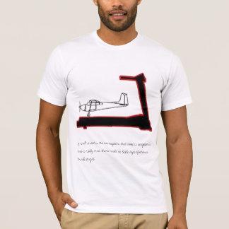 Camiseta El aeroplano en una rueda de ardilla…