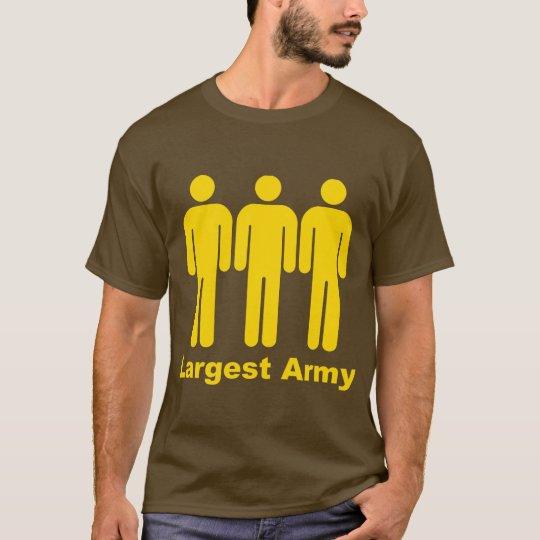 Camiseta El amarillo más grande del ejército