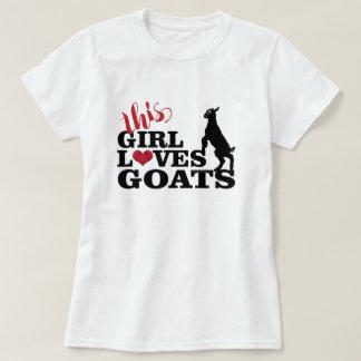 Camiseta El AMOR el | de la CABRA este chica ama al bebé