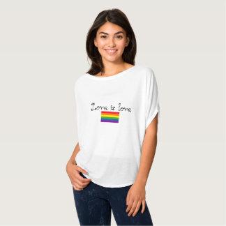 Camiseta El amor es amor es amor