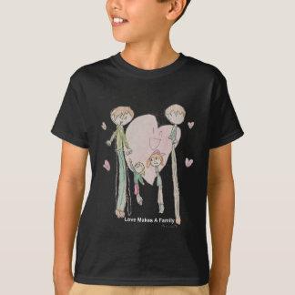 Camiseta El amor hace a una familia de Annika