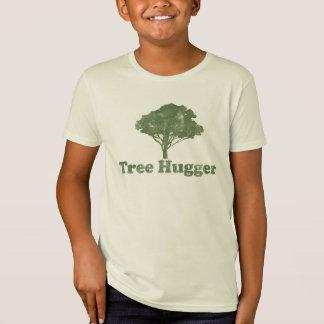 Camiseta El árbol Hugger piensa verde
