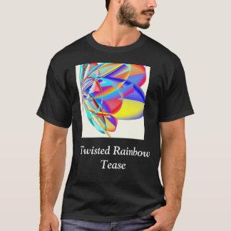 Camiseta El arco iris torcido toma el pelo