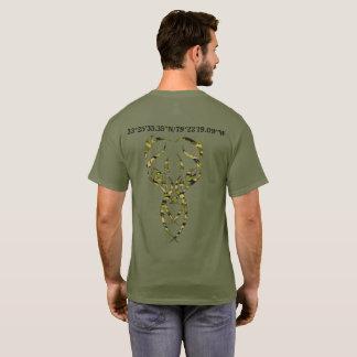 Camiseta el arma del club del thee en ciervos delanteros