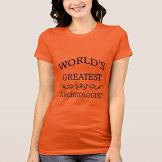 Camiseta El arqueólogo más grande del mundo