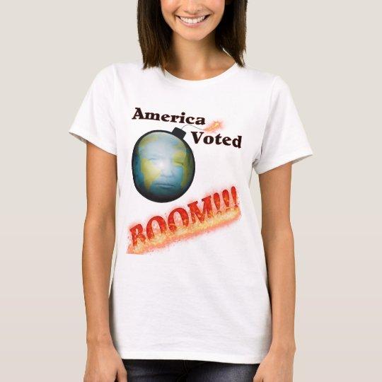 Camiseta El auge, América votó