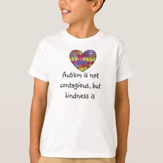 Camiseta El autismo no es contagioso