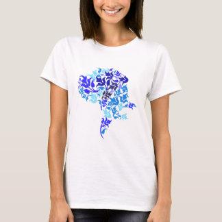 Camiseta El azul hojea great dane