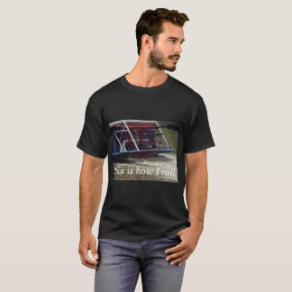 Camiseta El barco de la rueda de paleta esto es cómo ruedo