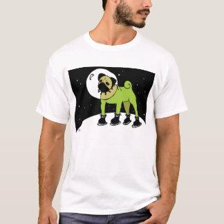 Camiseta El barro amasado del espacio va a la luna