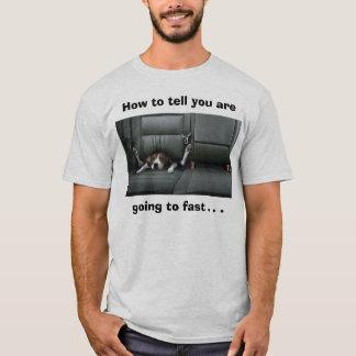Camiseta El beagle, cómo decirle va a ayunar