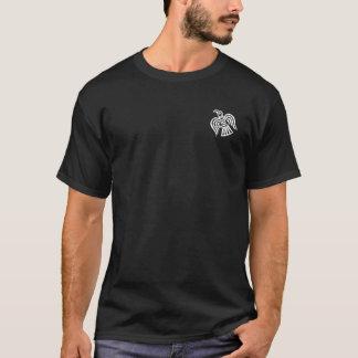 Camiseta El blanco del guardia de Varangian cruzado