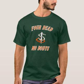 Camiseta El bosque T-Camisa-Oscuro oscuro básico de los