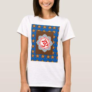 Camiseta El Buddhism del Hinduism del templo del arte del
