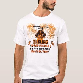 Camiseta El Burg gana a campeones del estado del fútbol -