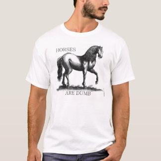 Camiseta El caballo es mudo