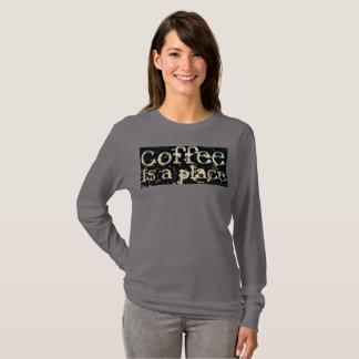 Camiseta El café es un lugar de JP Choate