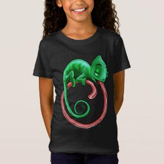 Camiseta El camaleón infinito embroma oscuridad de la