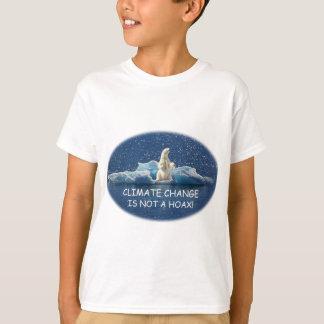 Camiseta El CAMBIO de CLIMA NO ES BROMA polar refiere el