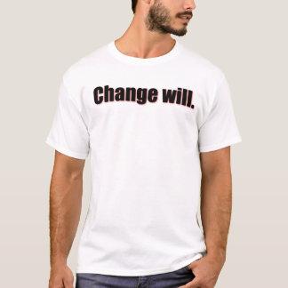 Camiseta El cambio lo va a hacer