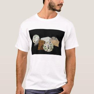 Camiseta El caminar sobre el vidrio reciclado