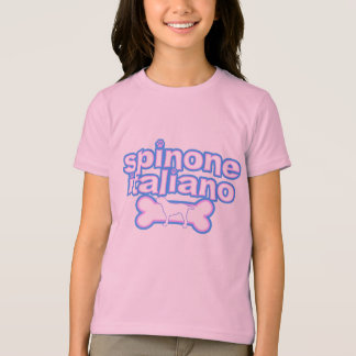 Camiseta El campanero Teeshir del chica rosado y azul de