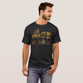 Camiseta El campo va remolque de campista salvaje