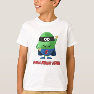 Camiseta El carácter inteligente estupendo de las habas