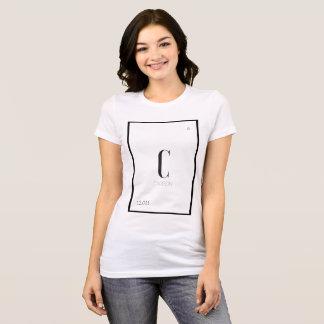 Camiseta El carbono es el mejor amigo de un chica