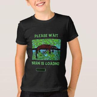 Camiseta ¡El cerebro del animal salvaje de la diversión