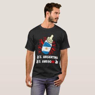 Camiseta El ciento por ciento de la Argentina de orgullo