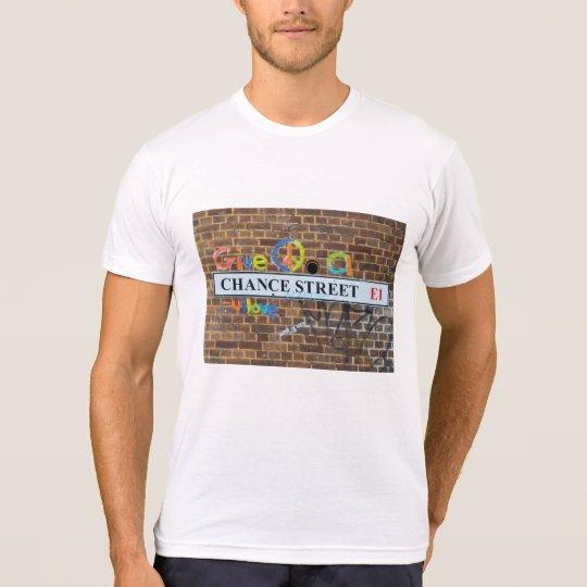 Camiseta El cierre de moda abstracto encima del arte de la