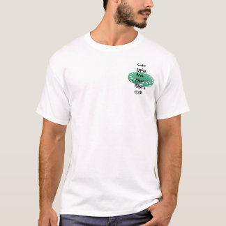 Camiseta El club del jugador de póker del área de Cedar