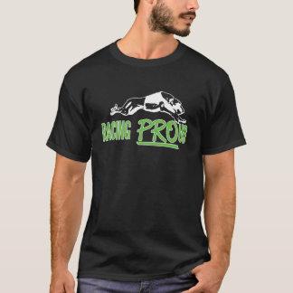 Camiseta El competir con orgulloso - diseño oscuro