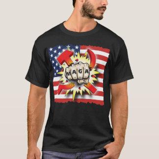 Camiseta El COMUNISMO del CHOQUE hace América la gran otra