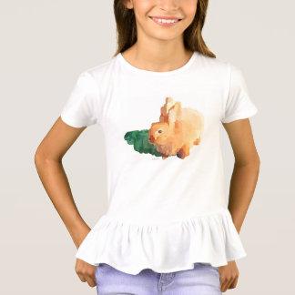 """Camiseta El """"CONEJITO de PASCUA"""" de las muchachas riza la"""