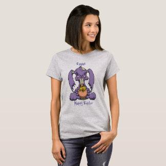 Camiseta El conejito del zombi ama Egggs