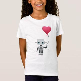 Camiseta el corazón del robot