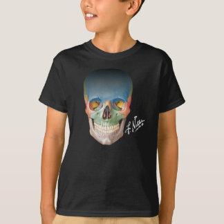 Camiseta El cráneo sonriente del Netter en un T