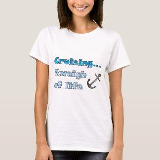 Camiseta El cruzar… Aweigh de vida