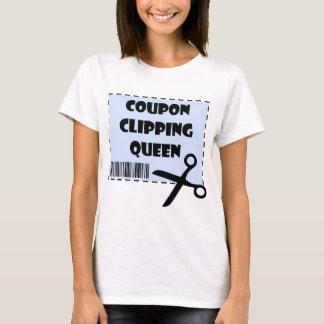 Camiseta El decir lindo de la reina del recortes de la