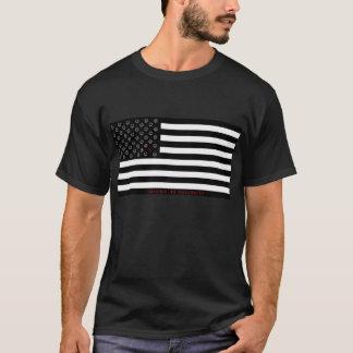 """Camiseta el """"desacuerdo es"""" bandera sonriente patriótica"""