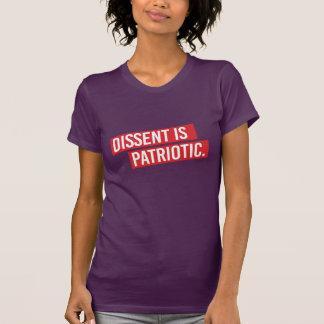 Camiseta El desacuerdo es patriótico - el desacuerdo es