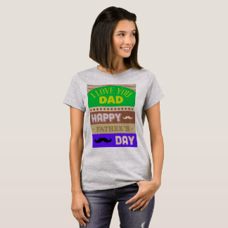 Camiseta El día de padre celebra